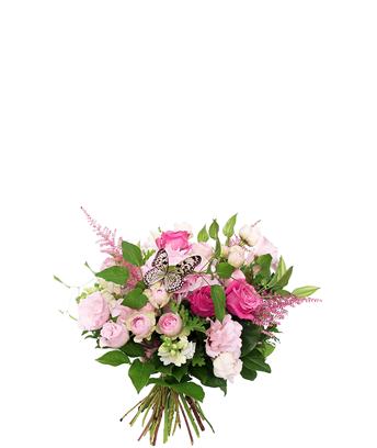 デニスデザイン ピンク 花束 中